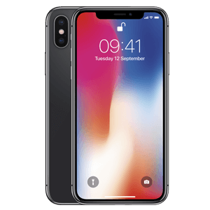 iphone x zwart