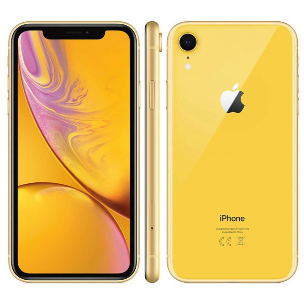 Refurbished iPhone XR 64GB geel